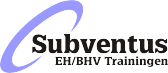 Subventus EH/BHV Trainingen